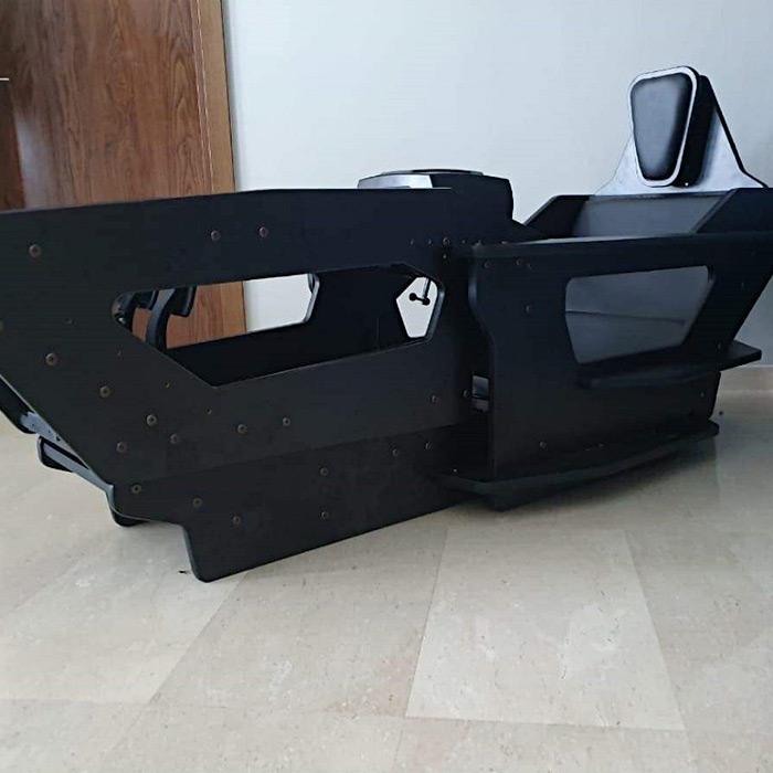 iSimRS Sim Racing Cockpit